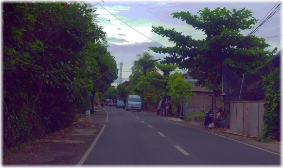 Pics from the Taxi Bali.