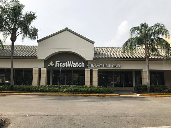 First Watch: Outside sign