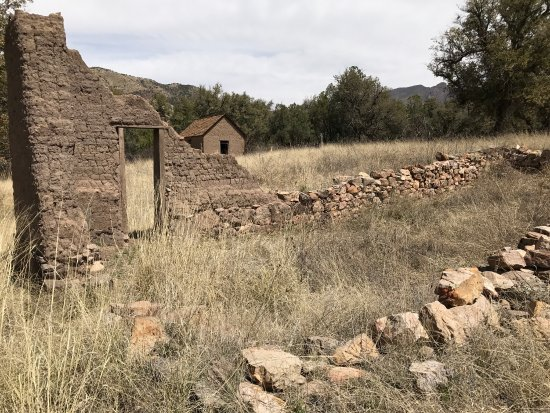 Douglas, AZ: ranch is amongst historic camp rucker in rucker canyon,very remote quiet and secluded place to c