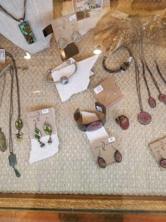 Allentown, NJ: Some of the custom jewelry.