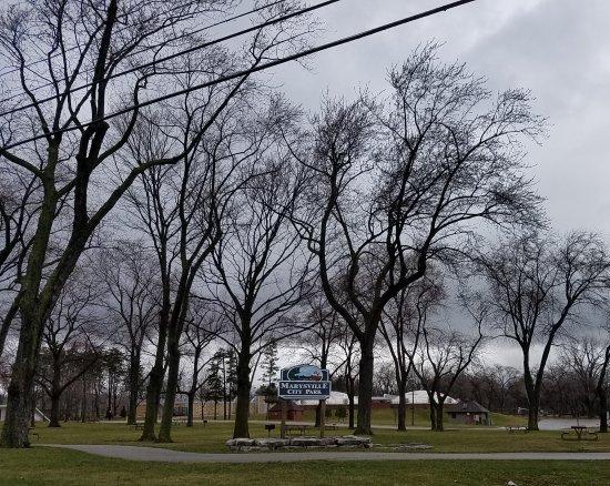 Marysville, MI: sign