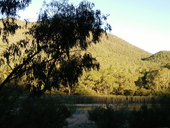 Willis Campground: View from campground