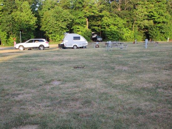 Southwoods RV Resort: on the grassy area