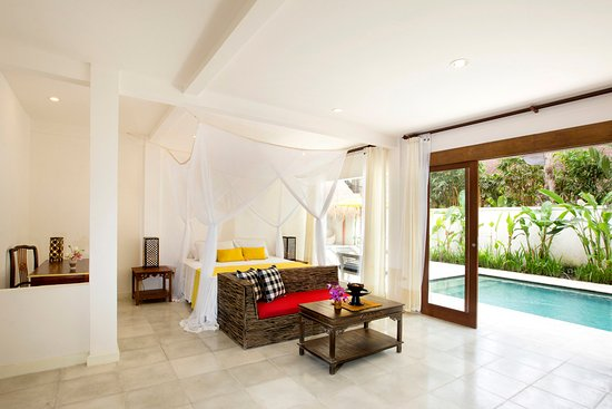 The Royal Palm Villa: View from Bedroom, lower floor