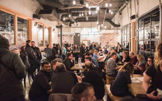Prince George, Canadá: Inside the tap room