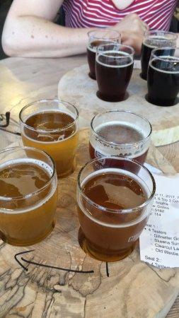 Prince George, Canadá: Beer flight