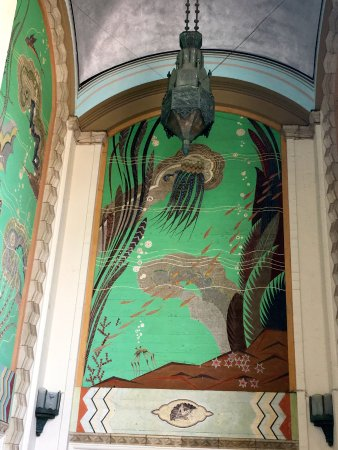 Catalina Island Casino: Beautiful original artwork