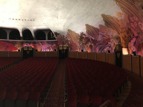 Catalina Island Casino: Art Deco designed theater
