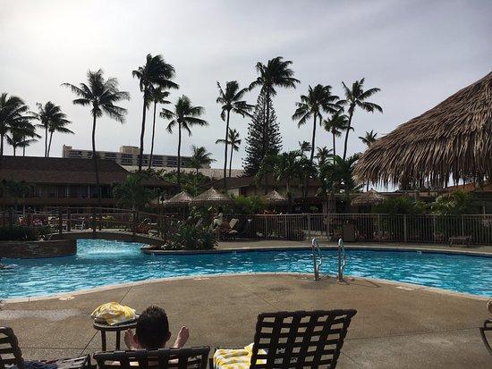 Aston Maui Kaanapali Villas: Pool area