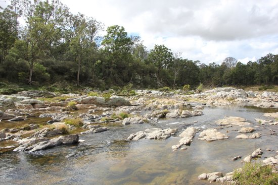 Candelo, Australien: Fun at the creek