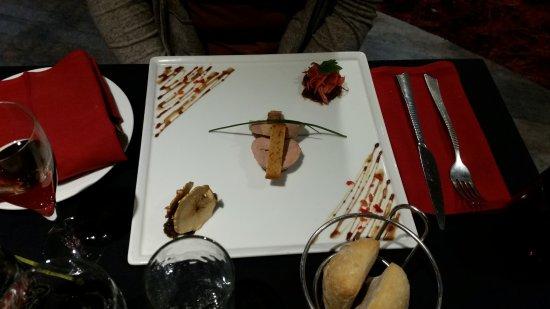 Villedieu-les-Poeles, Франция: foie gras