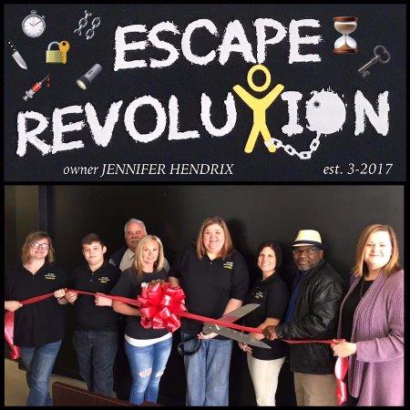 Escape Revolution: Ribbon Cutting