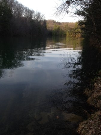 Country Inn & Suites By Carlson, Beckley: Trail around Lake Stephens - highly recommend