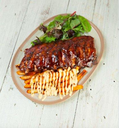 Burrito Bar Loganholme: Whole Rack of Ribs