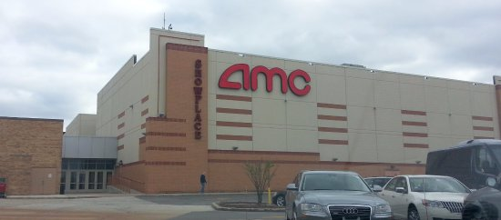 Niles, IL: a view of the AMC theatre entrance