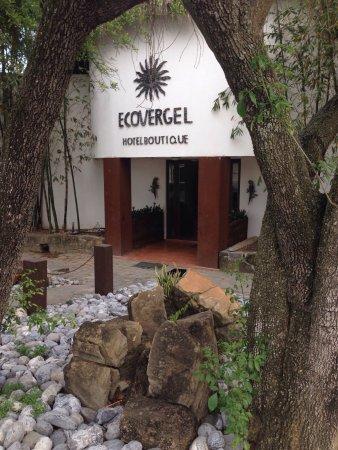 Ecovergel Hotel Boutique: Bienvenida al hotel
