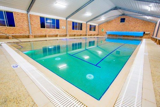 Hallidays Point, Avustralya: Indoor Lap pool