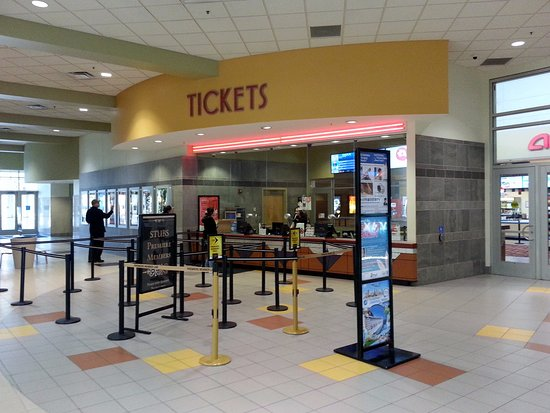 Niles, IL: the ticket counter inside the mall