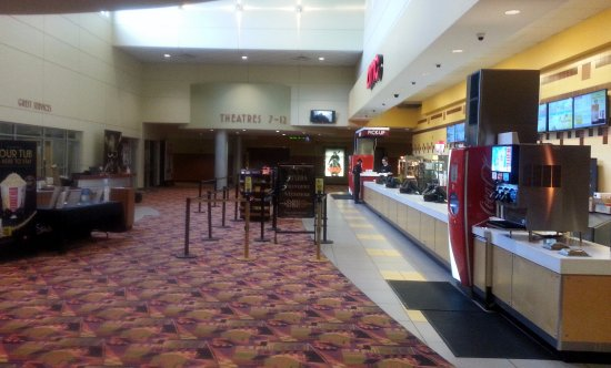 Niles, IL: concession stand in the lobby
