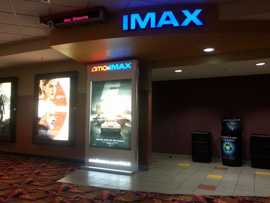 Niles, IL: the IMAX theatre entrance