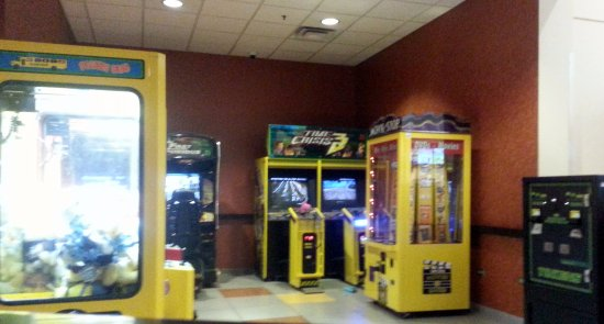 Niles, IL: the electronic game areas for those bored kids