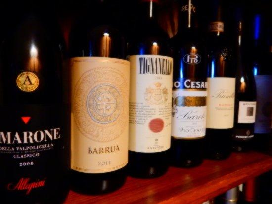 Le Cinque Terre: Fine Wine selection