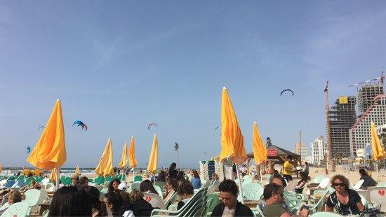 Photo of Bar Banana Beach at 9 Retsif Herbert Samuel, Tel Aviv 6357200, Israel