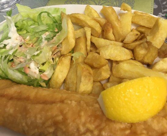 Trim, Ireland: Smoked cod and chips