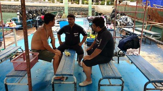 Scuba Diving Phuket PP : training