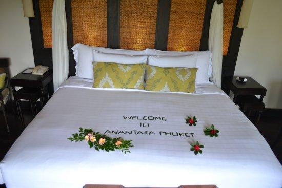 Anantara Mai Khao Phuket Villas: Welcome note