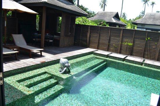 Anantara Mai Khao Phuket Villas: the pool at the villa
