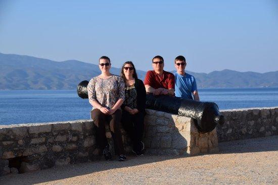 Marathon, Greece: Ashley's family birding in Greece