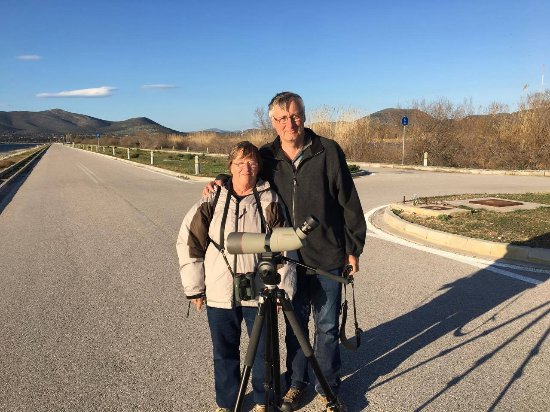 Maratona, Grecia: Birdwatching at Schinias National Park, Athens
