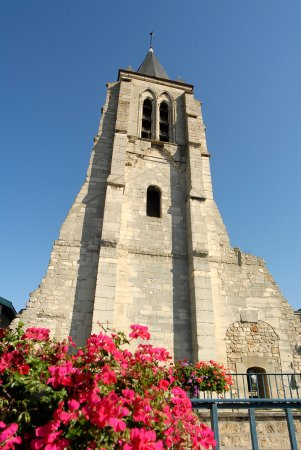 Massy, France: Clocher de l'église Sainte Marie-Madeleine