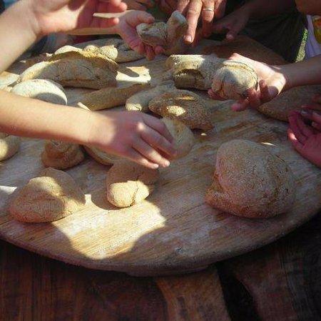 Seosko Gospodarstvo Antonicin Mlin: Kids making bread