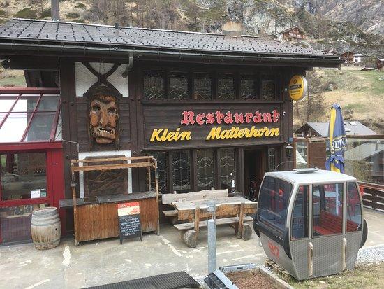 Restaurant Klein Matterhorn: extérieur