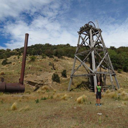 Omakau, Nueva Zelanda: Former gold mining site