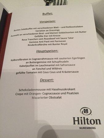 Hilton Nuremberg: Abendbüffet