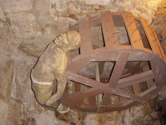 Chillingham Castle: Torture chamber.