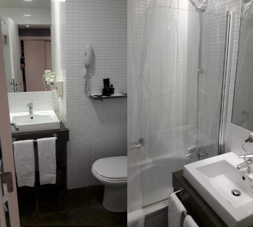salle de bain picture of lutecia smart design hotel lisbon tripadvisor. Black Bedroom Furniture Sets. Home Design Ideas