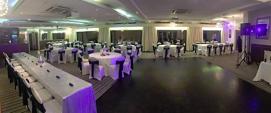 Upholland, UK :  Function set up