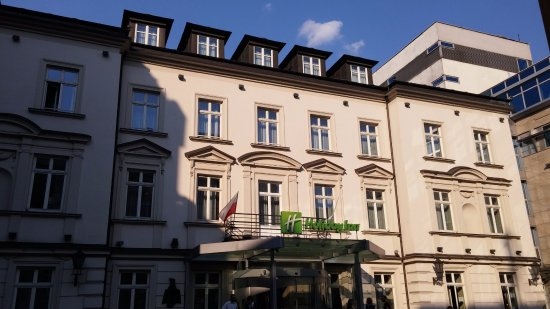 Holiday Inn Krakow City Center: כניסה ראשית למלון (מונגש)