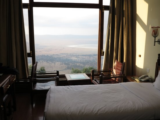Ngorongoro Wildlife Lodge: View from Room