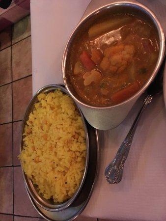 Rasa N16: Rice and vegetables.