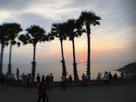 Karon View Point: sit-in beim Sonnenuntergang