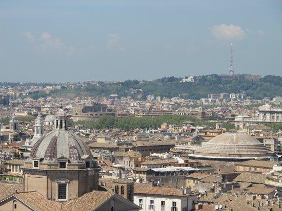 Roma dal Cielo Terrazza delle Quadrighe - What a view! - Picture of ...