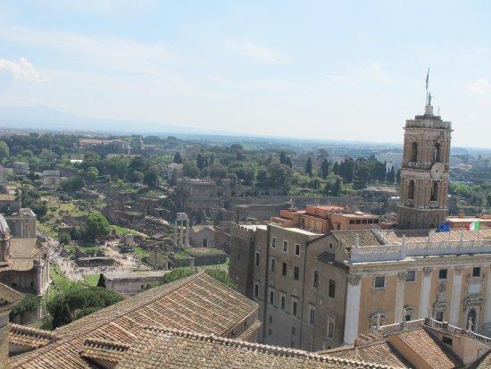 Roma dal Cielo Terrazza delle Quadrighe - What a view! - Foto di ...