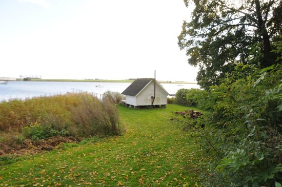 Skaelskoer, Danimarca: Finsk sauna ved fjorden