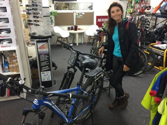 Thames, New Zealand: Jolly bikes