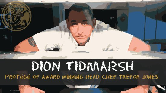 Magor, UK: Dion (Head Chef)
